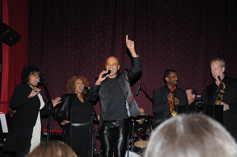 Bobby in concert with his Soul Purpose Band at the Cutting Room. Photos taken by Lee Henderson